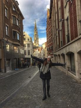 Улица в Брюксел