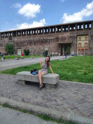 Замъкът на Сфорците / Castello Sforzesco